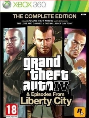 Buy Grand Theft Auto IV & Episodes of Liberty City: The Complete Edition: Av Media