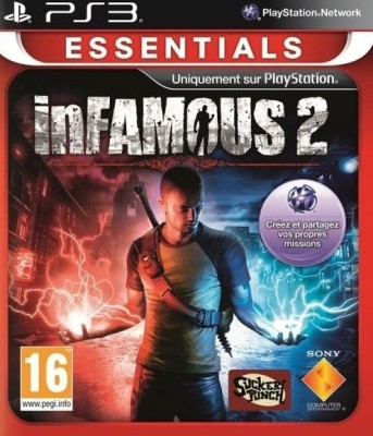 Buy Infamous 2 [Essentials] (Standard Edition): Av Media