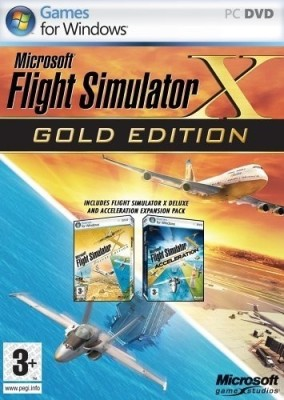 Buy Microsoft Flight Simulator X (Gold Edition): Av Media
