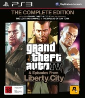 Grand Theft Auto IV & Episodes From Liberty City: The Complete Edition: Av Media