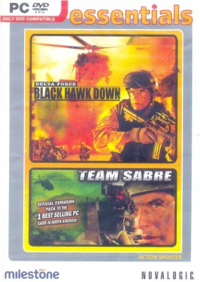 Buy Delta Force : Black Hawk Down + Team Sabre (Expansion Pack): Av Media