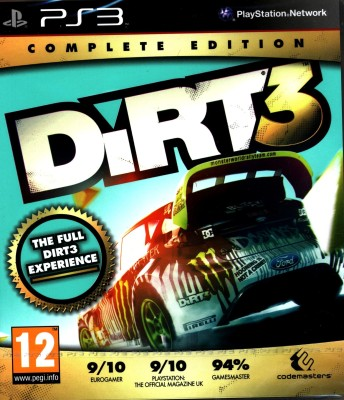 Buy Dirt 3 (Complete Edition): Av Media