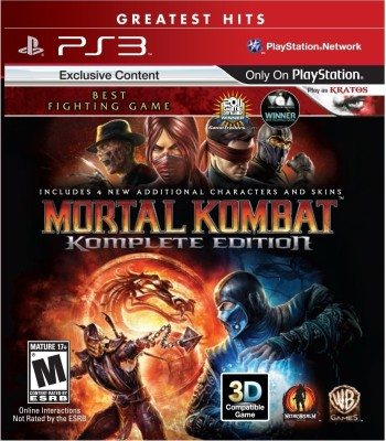 Buy Mortal Kombat Komplete Edition: Av Media