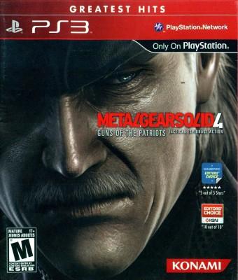 Buy Metal Gear Solid 4: Guns Of The Patriots: Av Media