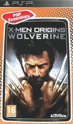 Buy X-Men Origins: Wolverine (PSP Essentials): Av Media