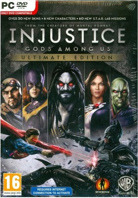 Buy Injustice Gods Among Us (Ultimate Edition): Av Media