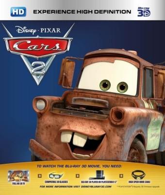 Buy Cars 2 3D (3D Bluray): Av Media
