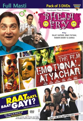 Buy Full Masti (Pack of 3 DVD's): Av Media