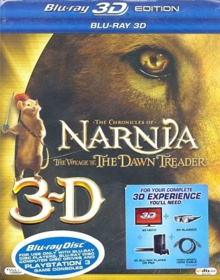 Buy The Chronicles of Narnia: The Voyage of the Dawn Treader 3D (3D Bluray): Av Media