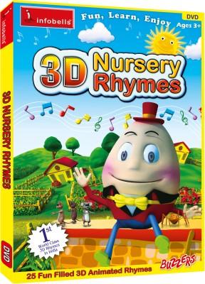 Infobells 3d Nursery Rhymes Vol 1 Movies Dvd Price In India Buy Infobells 3d Nursery Rhymes