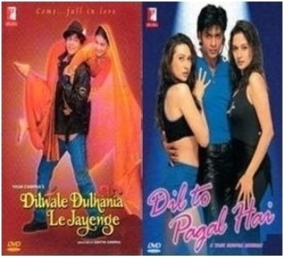 Buy Dilwale Dulhania Le Jayenge & Dil To Pagal Hai (Steelbook Edition): Av Media