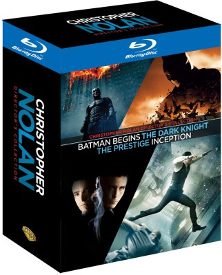 Buy Christopher Nolan Director's Collection: Av Media