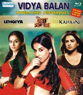 Buy Vidya Balan 3 Movie Blu Ray Box Set: Av Media