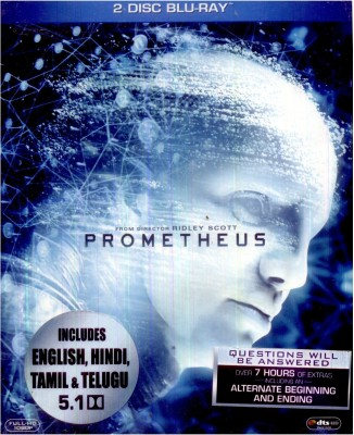Buy Prometheus (Bluray + DVD): Av Media
