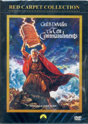 Buy The Ten Commandments: Av Media