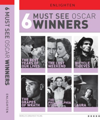 Buy 6 Must See Oscar Winners: Av Media
