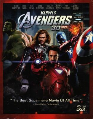 Buy The Avengers 3D: Av Media