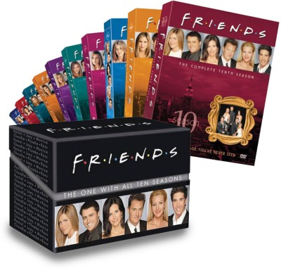 Buy Friends: The Boxset Season - Complete: Av Media
