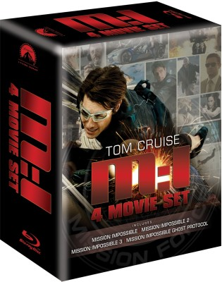 Buy Mission Impossible Quadrilogy (4 Movie Box Set): Av Media