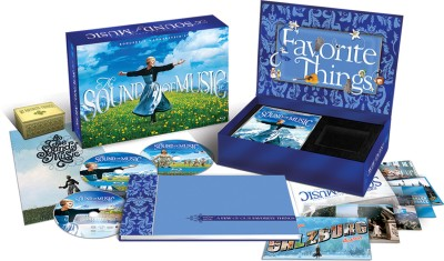 Buy The Sound Of Music: 45th Anniversary Edition (Gift Set- 2 Blu Ray + DVD): Av Media
