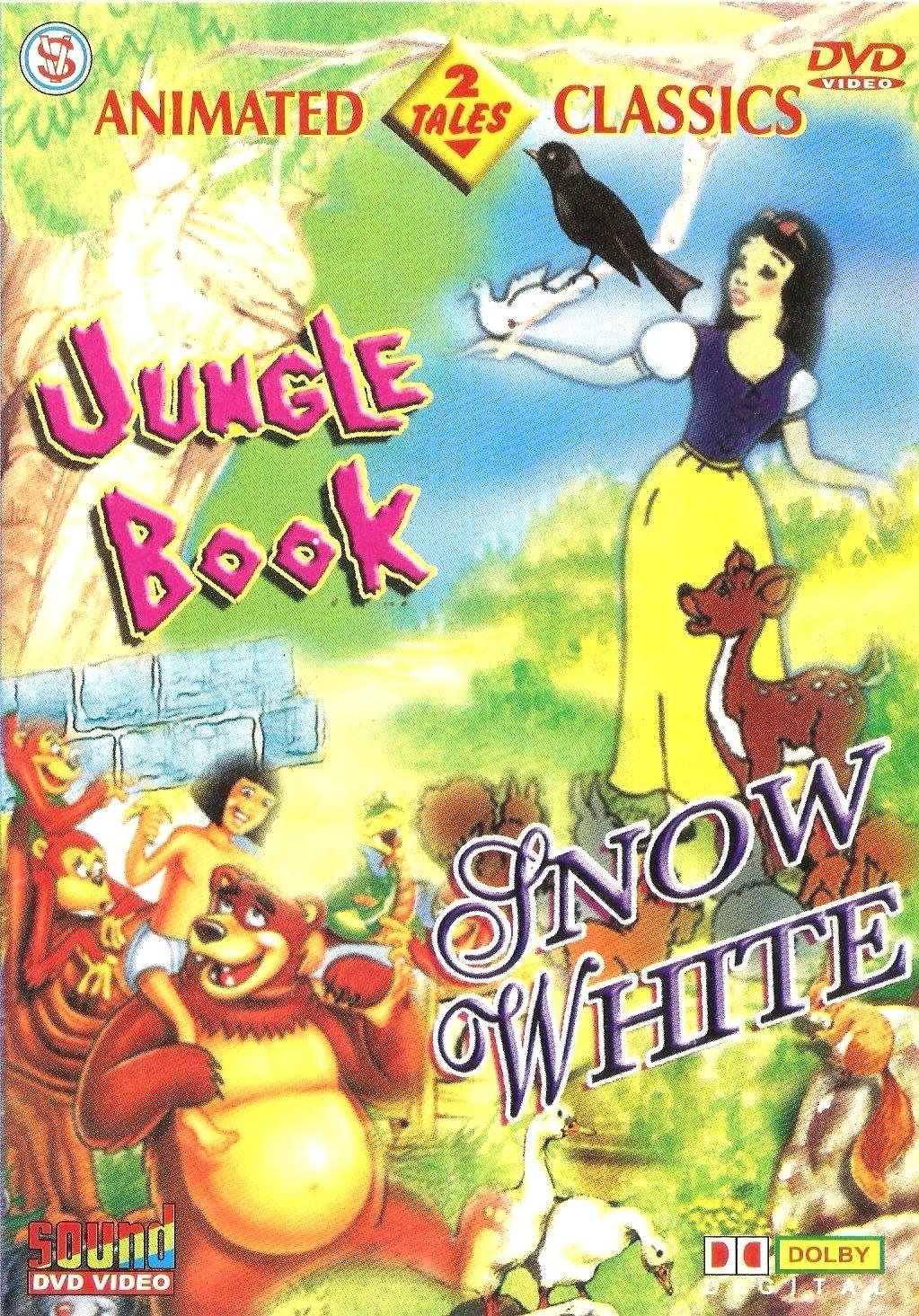 Jungle Book / Snow White (Cartoon) Movies DVD - Price In ...