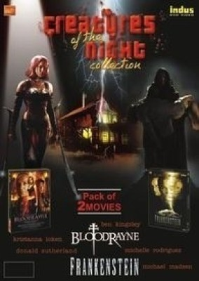 Buy Creatures Of The Night Collection - Set Of 2 Movies: 'Bloodrayne' + 'Frankenstein': Av Media