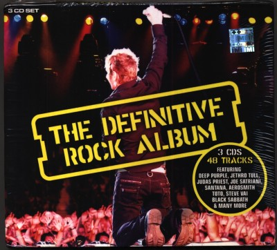 Buy The Definitive Rock Album-3 CD Set: Av Media