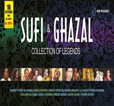 Buy Sufi & Ghazal:Collection Of Legends (16 CD Pack): Av Media