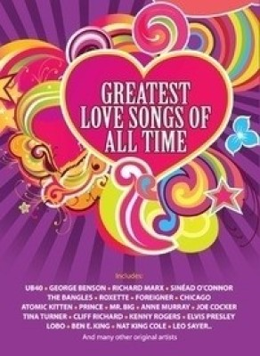 Buy Greatest Love Songs Of All Time: Av Media