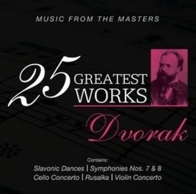 Buy 25 Greatest Works - Dvorak: Av Media