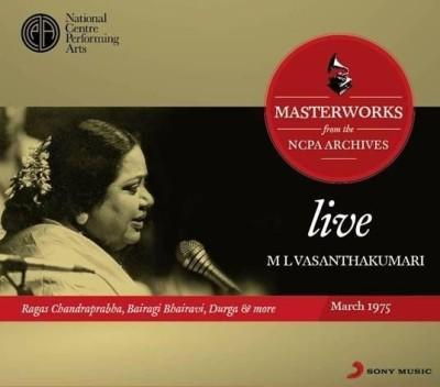 Buy Masterworks From The NCPA Archives - M. L.Vasanthakumari: Av Media