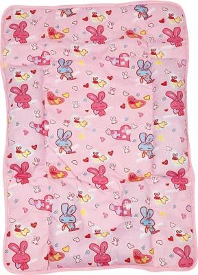 Blue Berrys Fix Pillow Mat Convertible Crib (Cotton, Pink)