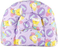 Blue Berrys Bed With Mosquito Net Convertible Crib (Cotton, Purple)