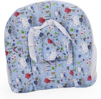 Blue Berrys Baby Bed With Mosquito Net Convertible Crib (Cotton, Blue)