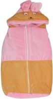 Kidz Corner Baby Wrap Non-Convertible Bunk (High Density Fibre, Pink-Peach)