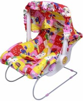 TruGood Carry Cot 11 In 1 Feeding Chair, Swing, Bouncer, Bath Tub, Car Seat, Rocker Multipurpose Bunk (plastic With Soft Cotton Cover & Foam, Multicolor)