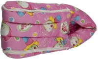 Mommas Baby Covered Carry Bed Single Animal Print (Cotton Satin, Pink)