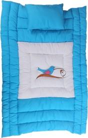 Jinglers Super Cotton Baby Bed Xxl Crib Blue