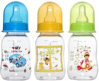 Mee Mee Feeding Bottle (3pcs Set) - 140 Ml (Multicolor)