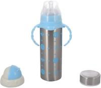 WonderKart Multifunctional Stainless Steel Baby Feeding Bottle - Blue - 240 Ml (Blue)