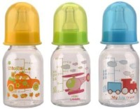 Mee Mee Premium Feeding Bottle Set Of 3.Pcs - 125 Ml (Blue)