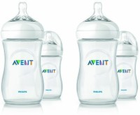 Philips Avent Bpa Free Natural Polypropylene Bottles - 265 Ml (White)