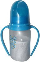 Born Babies Feeding Bottle - 125 Ml (Blue)