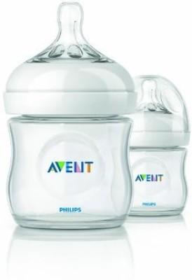 Philips Avent BPA Free Natural Polypropylene Bottle - 118 Ml (White)