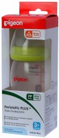 Pigeon Unbreakable Feeding Bottle - 240 Ml (Green)