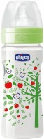 CHICCO WELL BEING FEEDING BOTTLE 2M+ GREEN 250ML - 250 Ml (Multicolor)