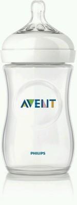 Philips Avent Natural Feeding Bottle - 260 Ml (White)