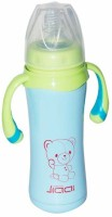 Blossoms Vacuum Flask Stainless Steel Baby Feeding Bottle With Handle - 240 Ml (Blue)