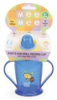 Mee Mee Baby's Non-Spill Feeding Cup - 180 Ml (Blue)