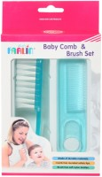 Farlin Baby Comb And Brush Set (Blue)